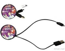 Retractable USB Charging Data Transmission Cables
